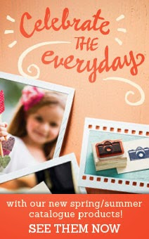 Stampin' Up!  Spring Catalogue 2014