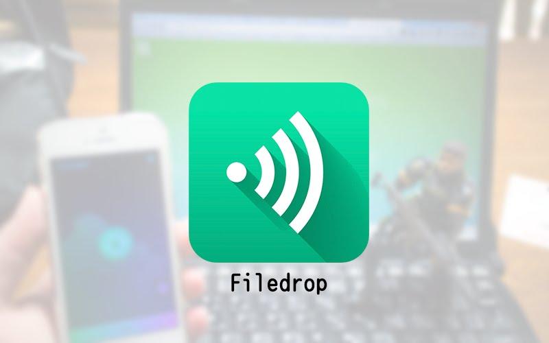 iPhoneとPCのファイル転送に「Filedrop」が神アプリ過ぎだった
