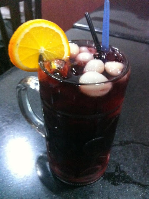 Ribena+Longan Big Glass
