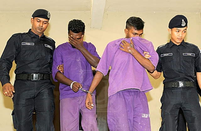 Suspek Tetak Isteri Di PD Di Dakwa