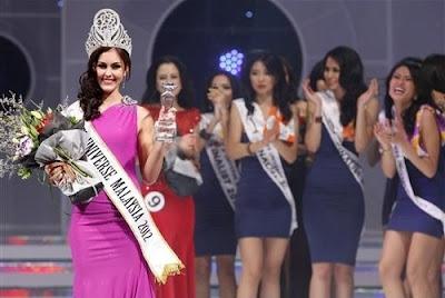 miss universe malaysia 2012 winner kimberly legget