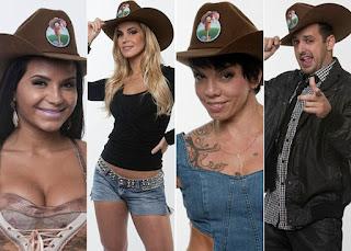 (Shayene Cesário, Robertha Portella, Penélope Nova e Rodrigo Capella)
