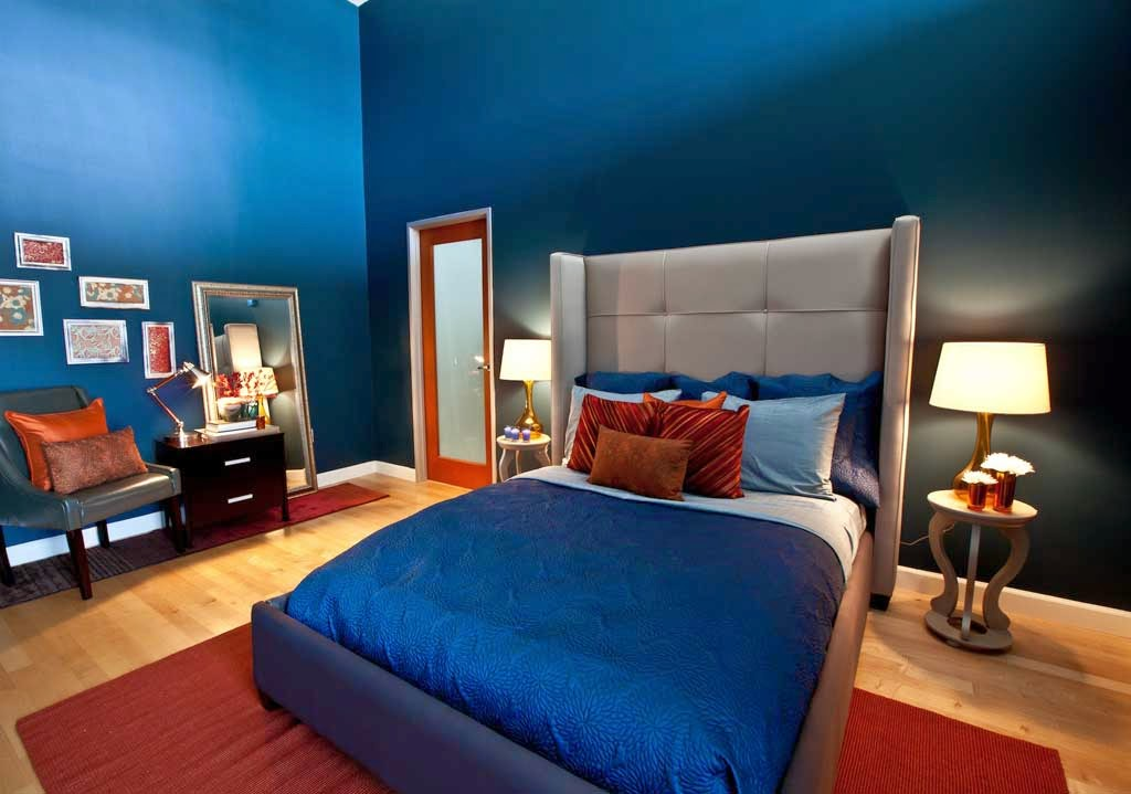 Bedroom Paint Color Design Blue Carpet Bedroom Minimalist