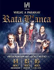 """RATA BLANCA EN EL """"CLUB PETIROSSI"""" (PARAGUAY) - 14/08/2015"""