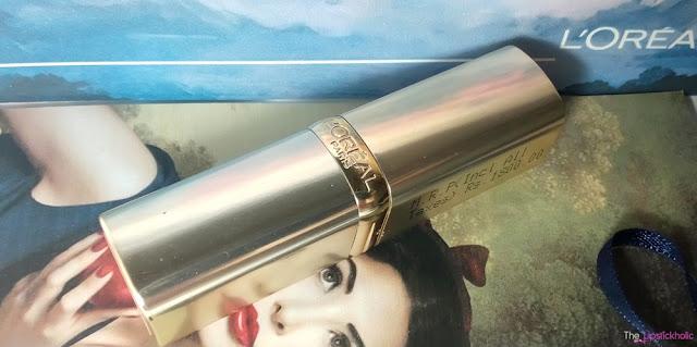 adb1f5b1647 Review: L'Oreal Paris Color Riche Lipstick 335 Carmin St Germain ...