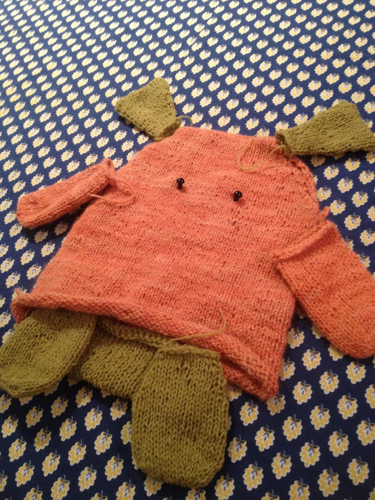 swirl yoke knitting pattern