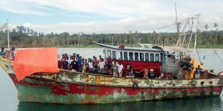 Sejak Pekan Lalu, 16 Kapal Pengungsi Tiba di Australia