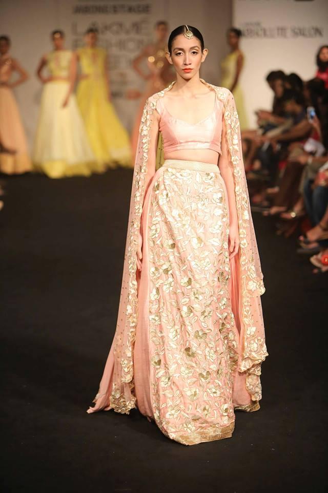 Divya Reddy Lakmé Fashion week a/w 2015
