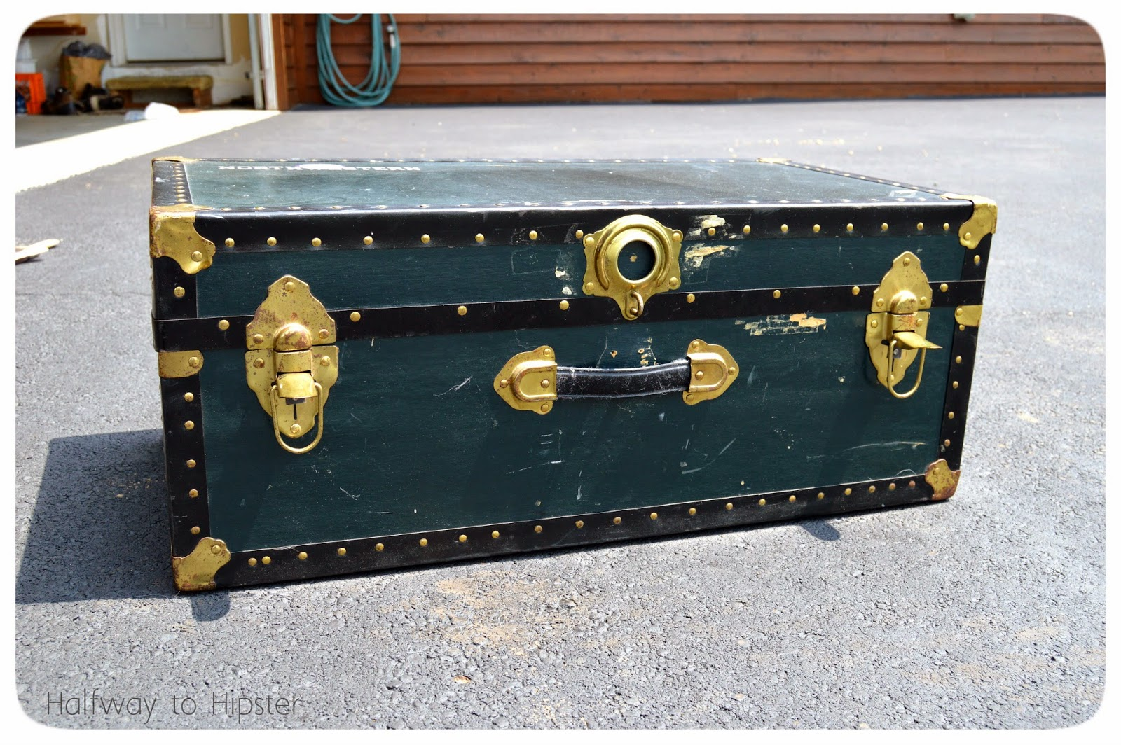 Thrifted Trunk Makeover