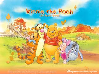 Winnie the Pooh Wallpaper 01