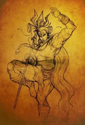 lord shiva digital art