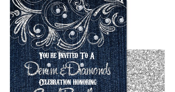 eccentric designs by  latisha horton   new  denim  diamond