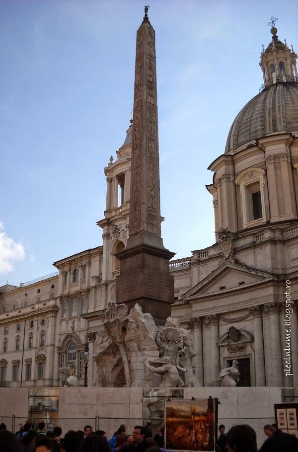 Obeliscul din Piazza Navona