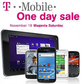 T-Mobile's Magenta Saturday Sale is on 19th November