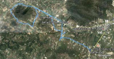 Ruta Cofradía - Carboneros - Buenavista