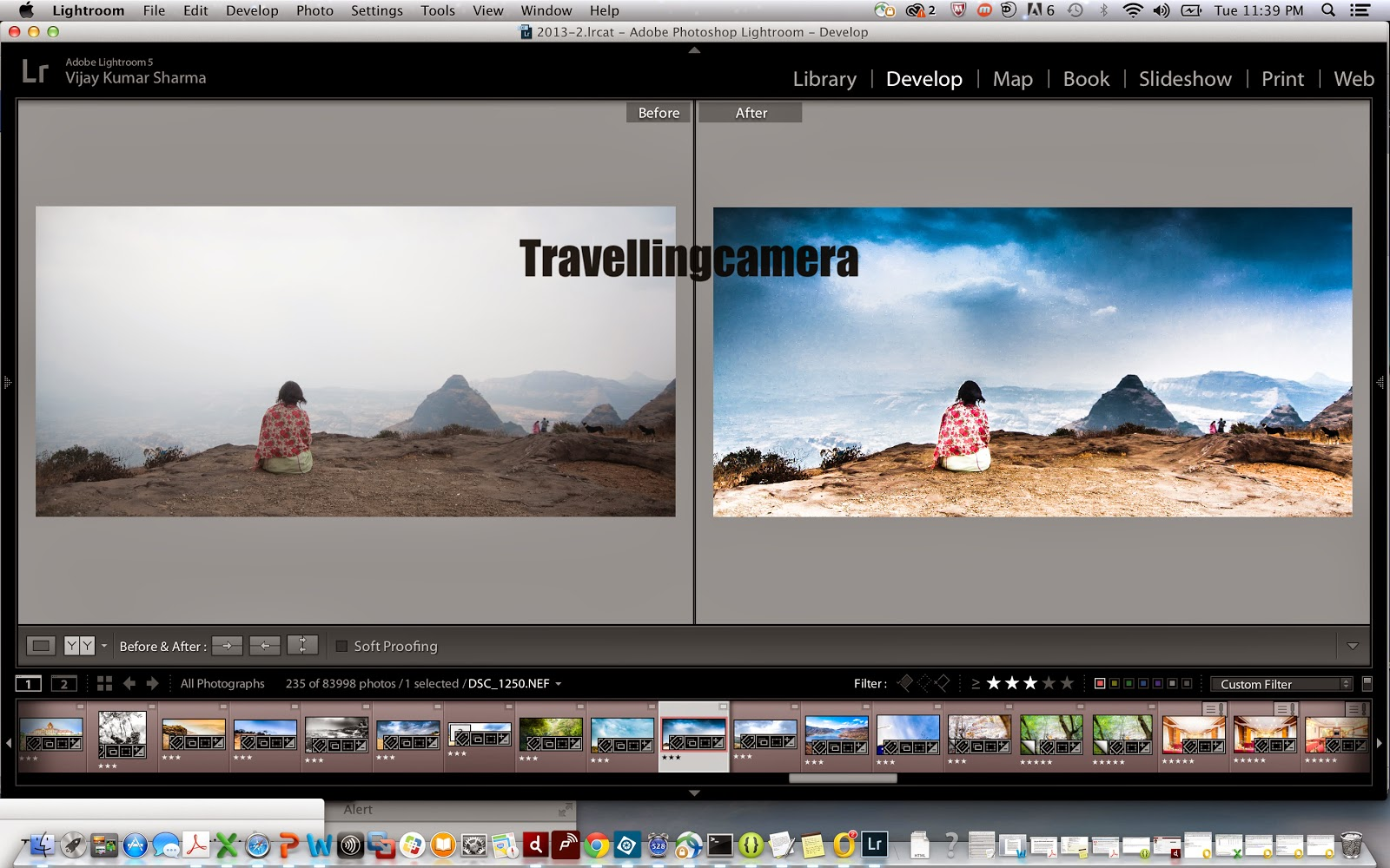 How much editing is sufficient for your Travel Photographs? || Adobe Photoshop Lightroom
