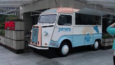 Jamies Italian Street eats Ice Cream Van