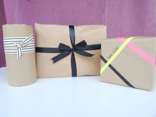 cómo envolver bonito un regalo
