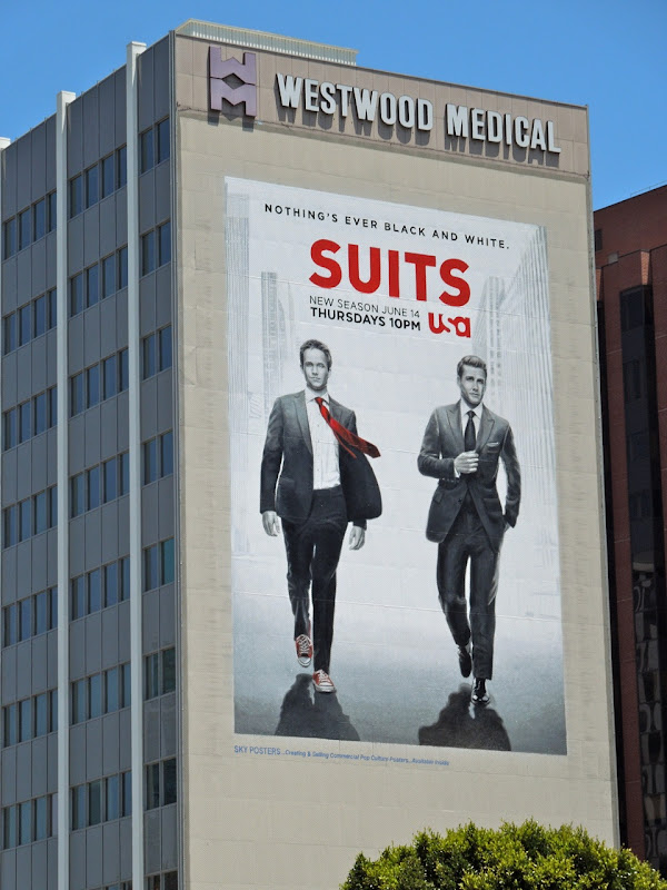 Giant Suits season 2 billboard