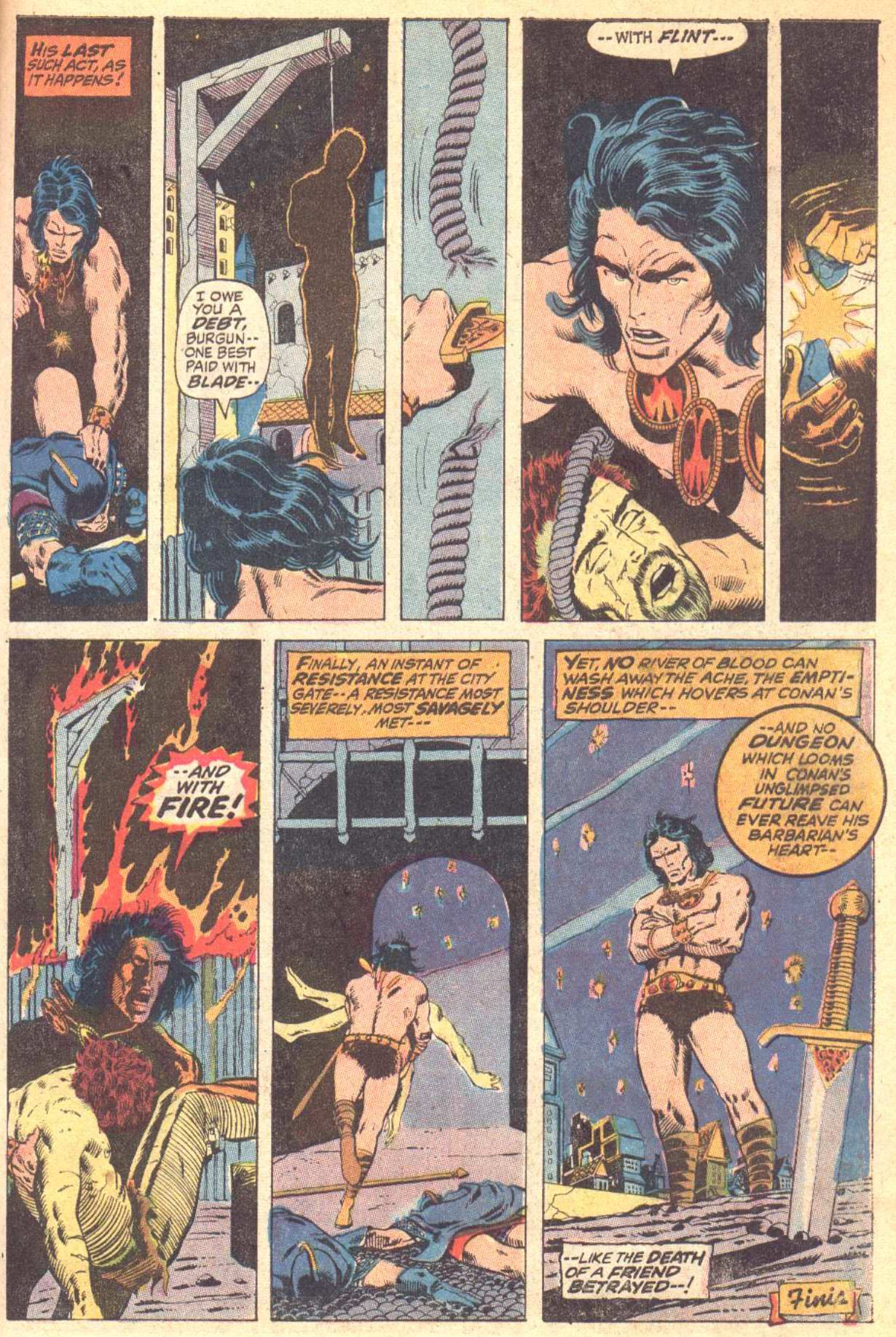 Conan the Barbarian (1970) Issue #10 #22 - English 24