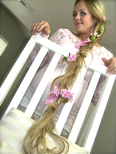 """Be a knockout, naturally.: Rapunzel """"Tangled"""" braided hair ..."""