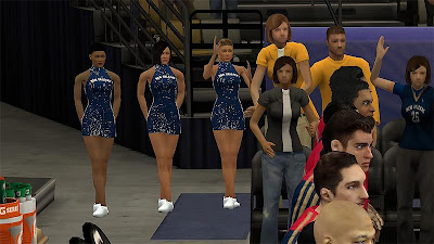NBA 2K13 New Orleans Pelicans Dancers Fix