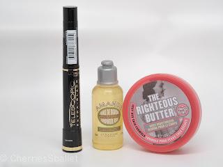 BBB Dream Box IV - L'occitane Almond Oil, L'oreal Telescopic Carbon Black Mascara, Soap & Glory The Righteous Butter Mini