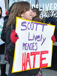 Anti-Lively Protestor