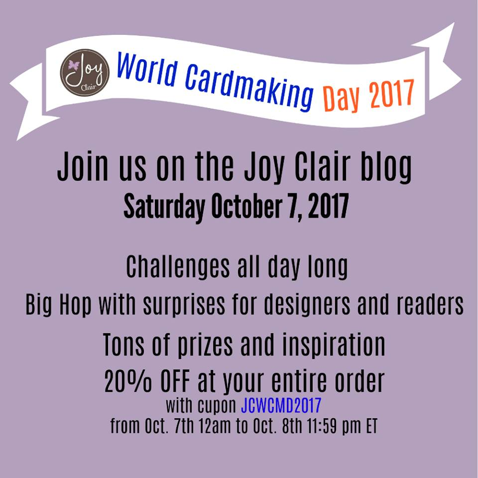 Join us on the JOY CLAIR BLOG