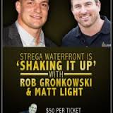 celebrity bartender, jennifer amero, jennifer goulart amero, jamero marketing suite, Ron Gronkowski, Strega Waterfront, Matt Light, One Fund