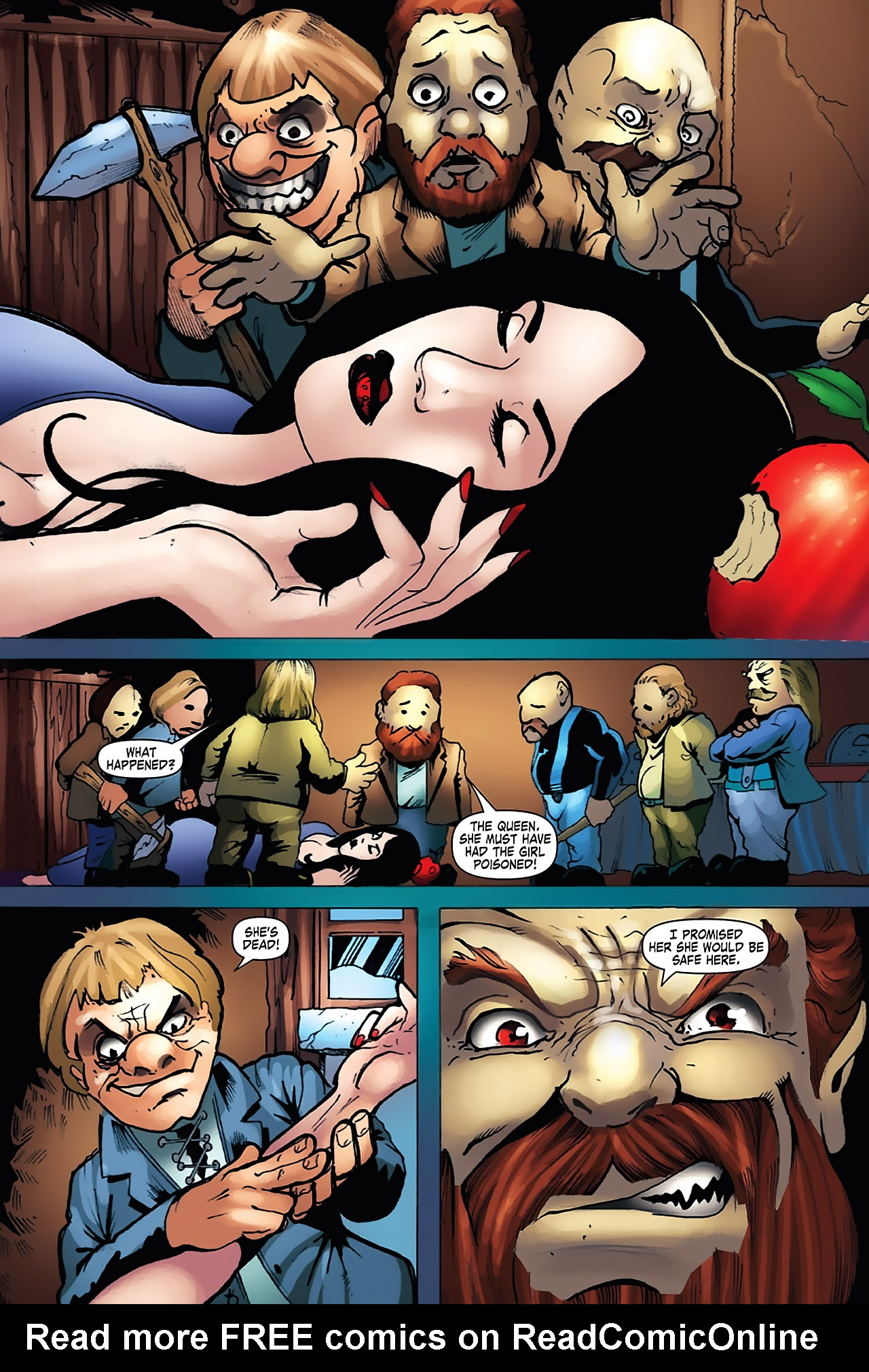 Grimm Fairy Tales (2005) Issue #7 #10 - English 19