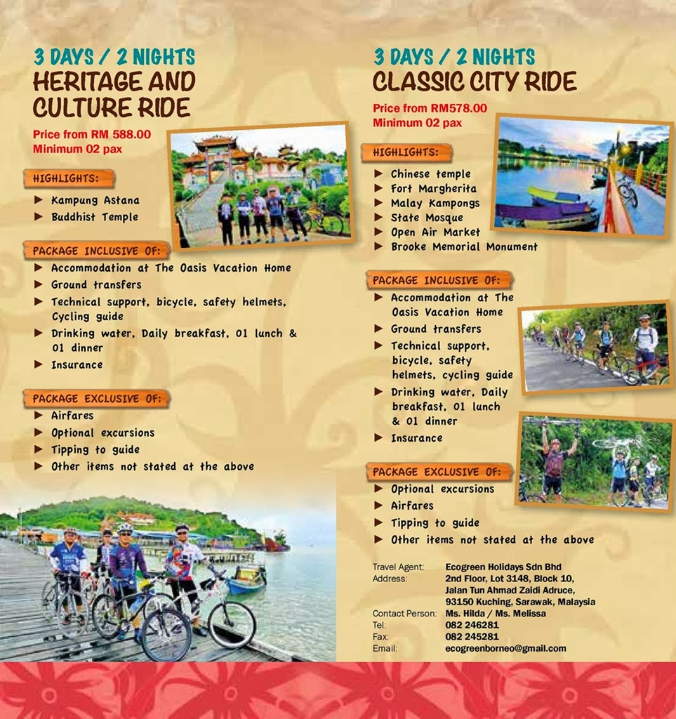MATTA Fair March 2014 | Kayo-Kayo Sarawak Packages Cycling Tour
