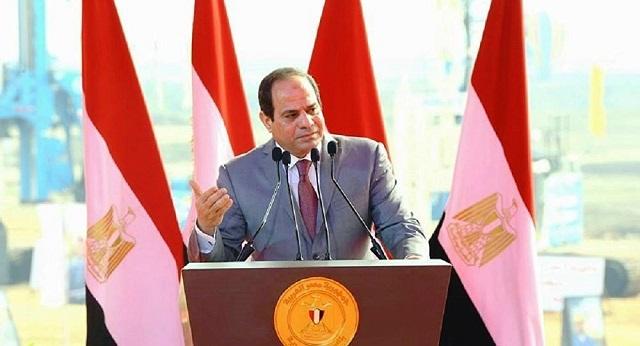 السيسى احتفالا بثورة يناير : مصر تحولت من وطن لجماعة إلى وطن للجميع