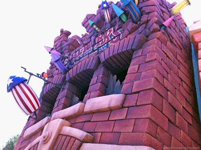 Toontown Disneyland Fireworks Mickey's downtown Roger Factory