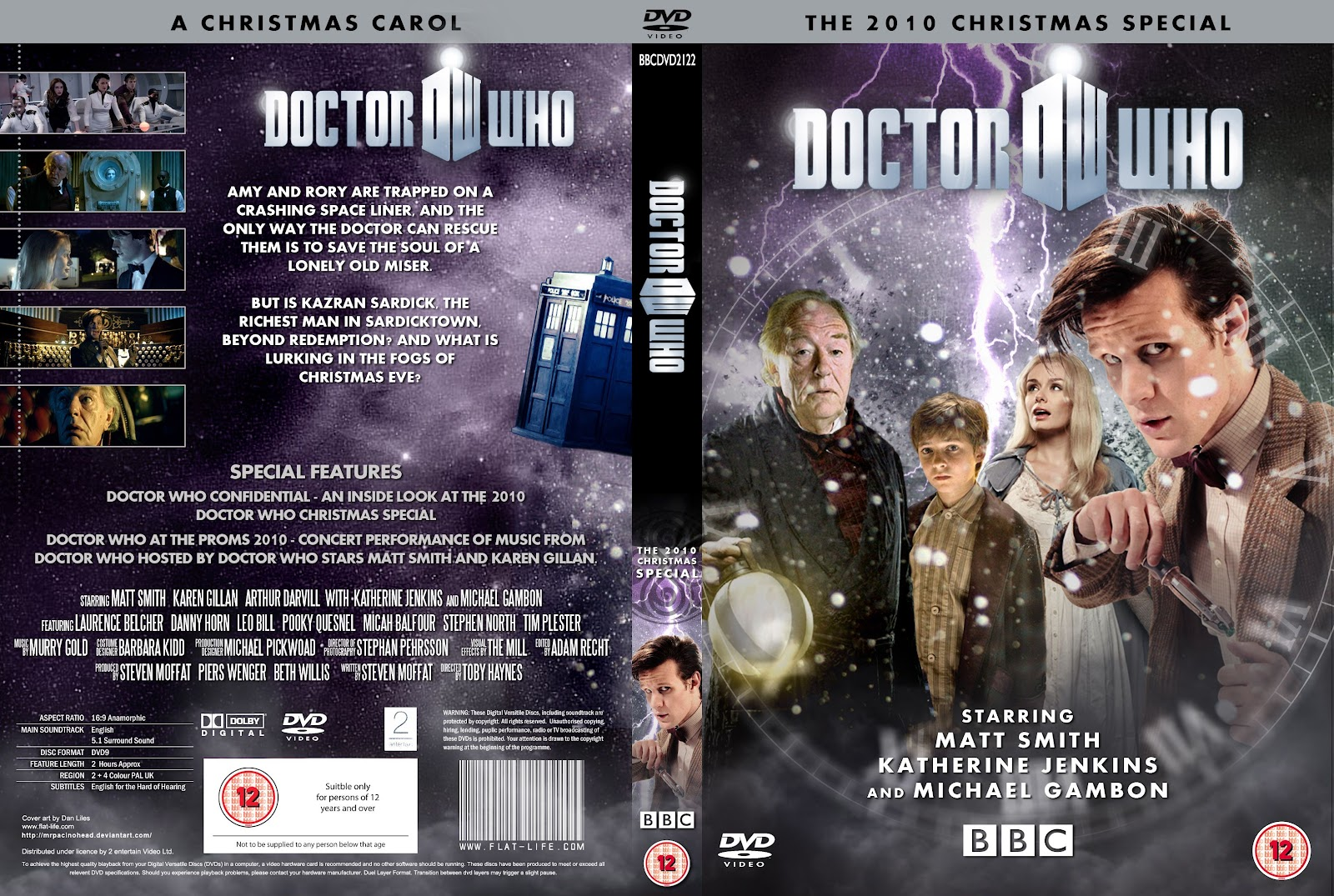 Capa DVD Doctor Whow The 2010 Christmas Special
