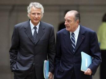 França: CHIRAC TERIA RECEBIDO DE LÍDERES AFRICANOS MALAS COM DINHEIRO