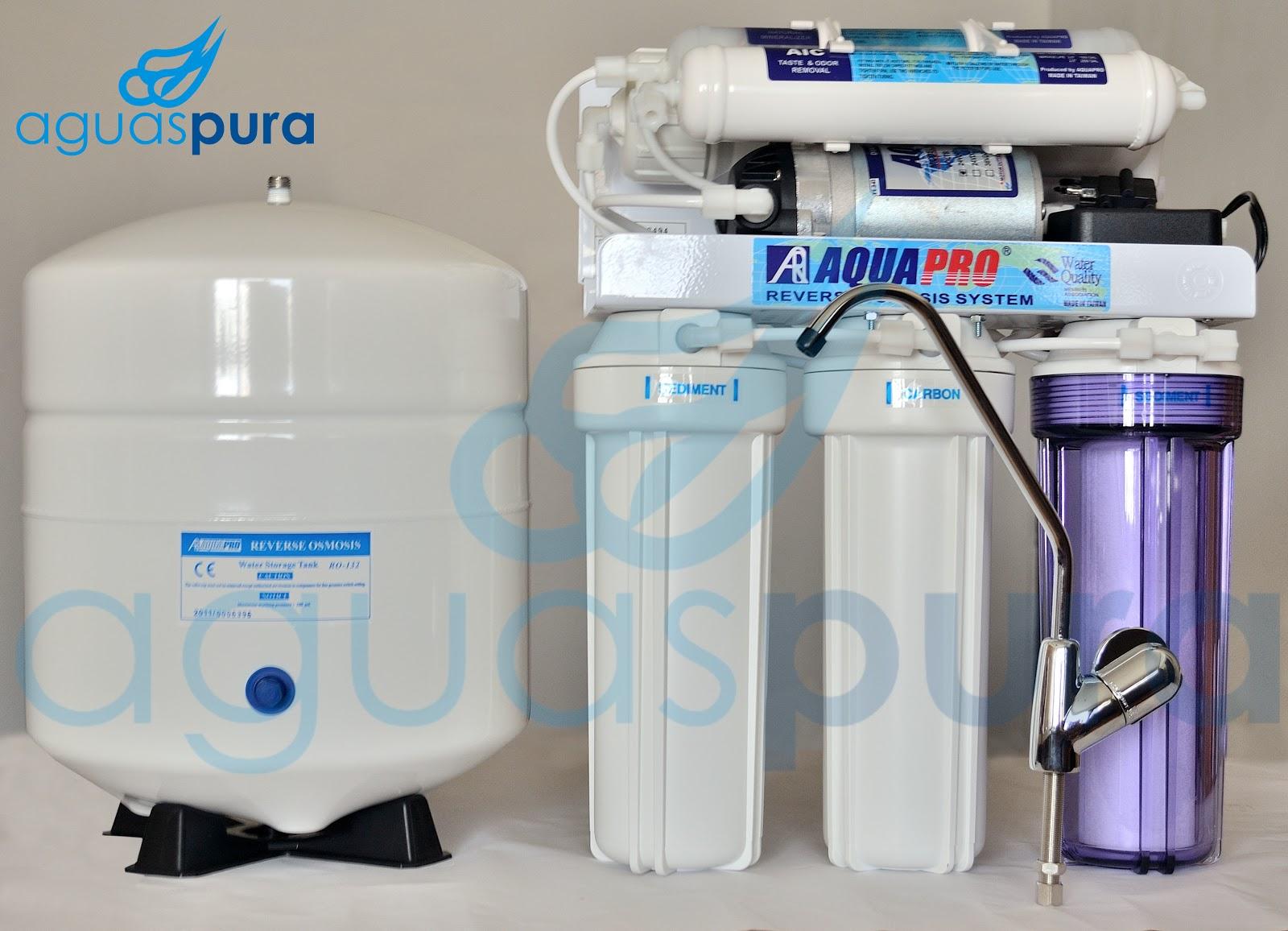 Aguas pura smosis inversa filtro de agua por osmosis - Filtro de osmosis inversa ...