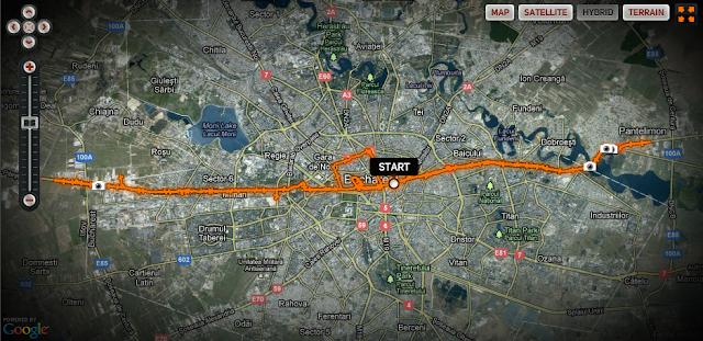 Bucureşti, alergare 60 km