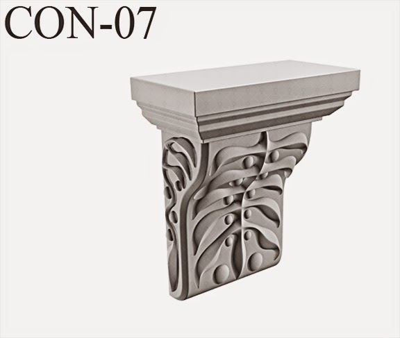 console decoratiuni fatade case, profile decorative din polistiren