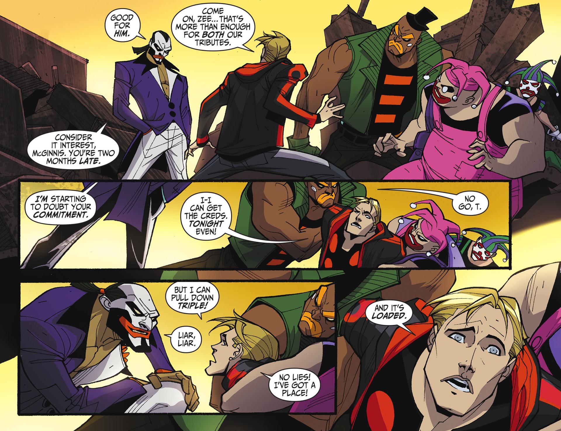 Batman Beyond 2.0 #17 #24 - English 12
