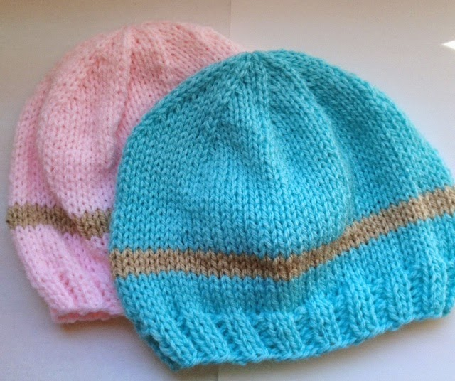 ... FREE PATTERNS! My Little Baby Newborn Hat- Crochet & Knit...