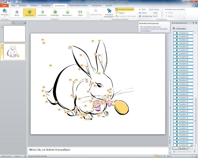 PowerPoint 2010 - ClipArt Animationsverzögerung