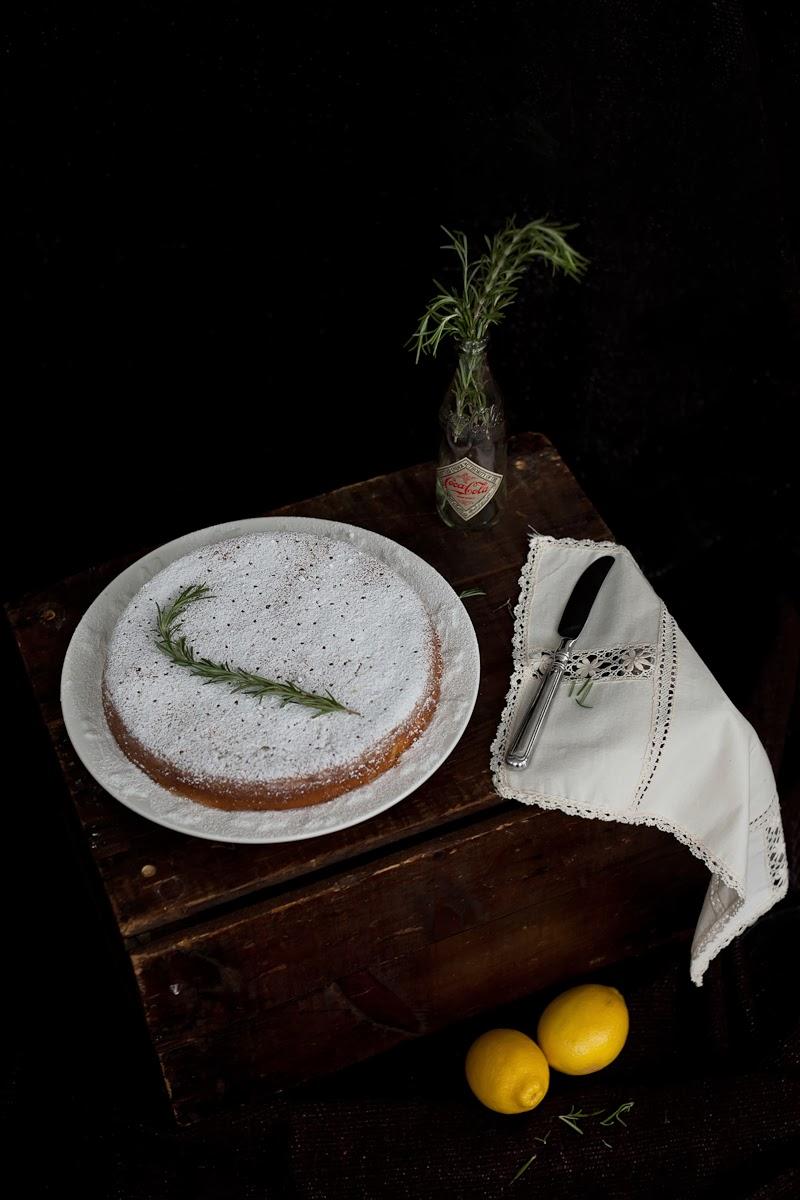 ... halves: Things That Matter + Lemon, Rosemary & Olive Oil Semolina Cake