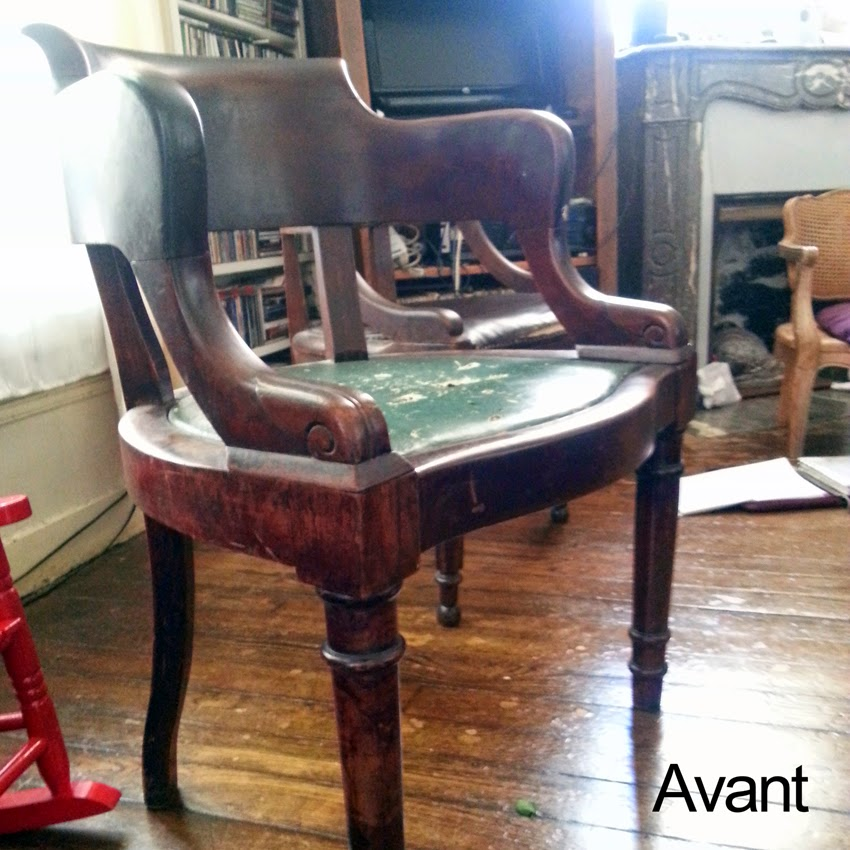 avant apr s fauteuil napol on iii atelier velvet artisan tapissier paris 10e. Black Bedroom Furniture Sets. Home Design Ideas