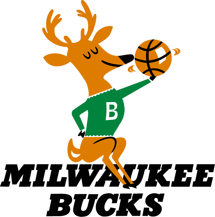 Milwaukee Bucks Logos