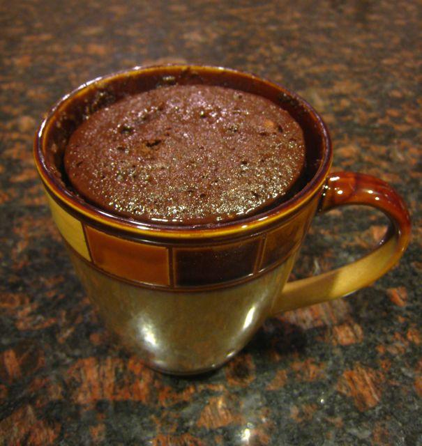Spirals & Spatulas: Nutella Mug Cake