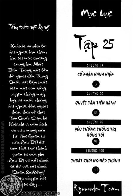Chú bé rồng Chap 97 trang 3