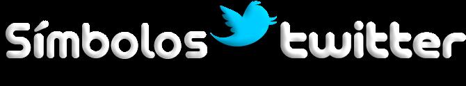 Símbolos Twitter