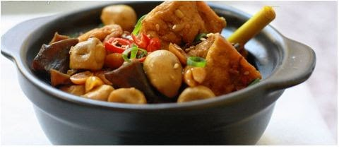 Món đậu phụ kho kiểu Huế với cách làm đơn giản