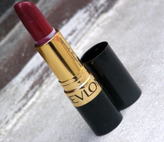Revlon Super-Lustrous Lipstick Review -Raisin rage color packaging picture